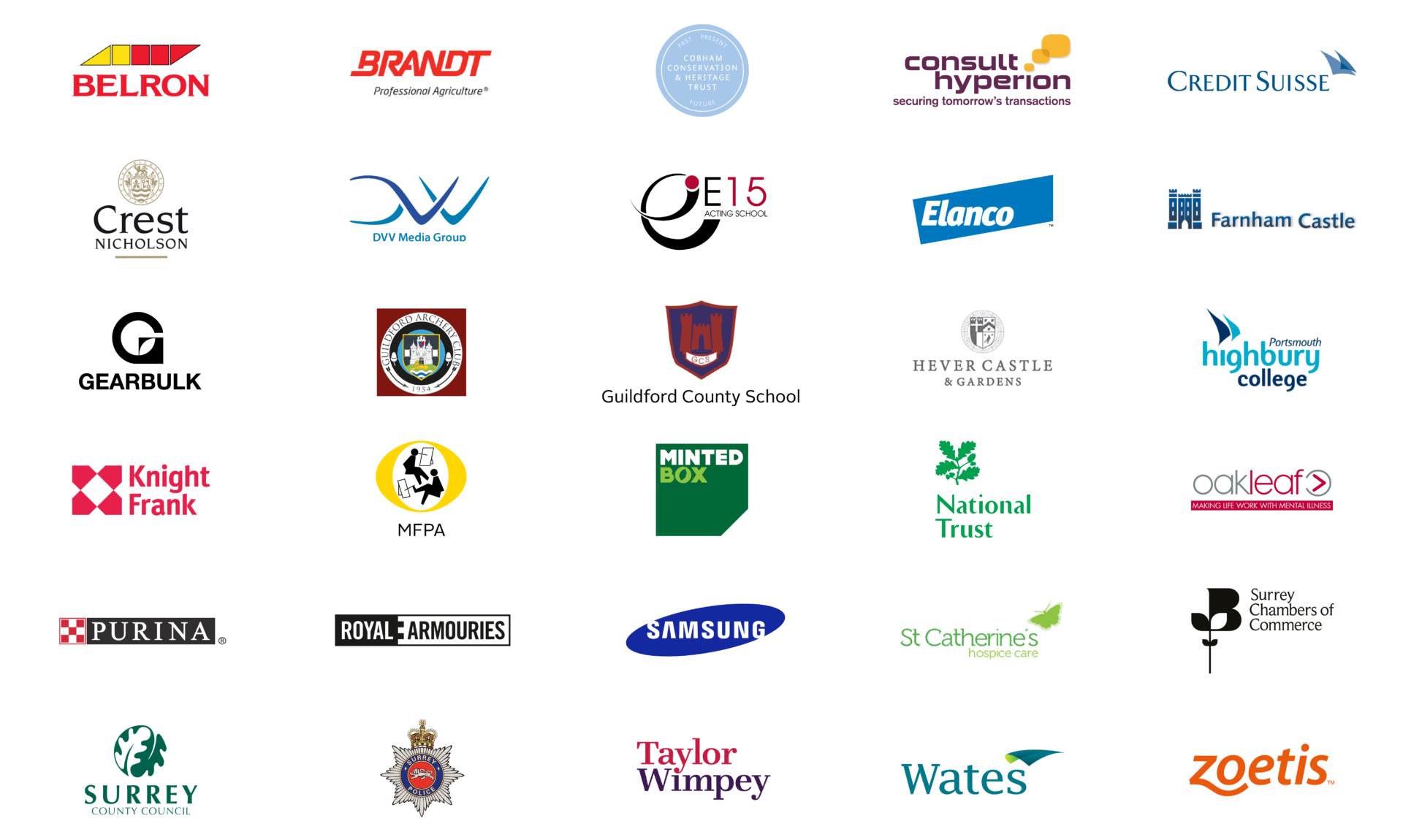 Test Client Logos