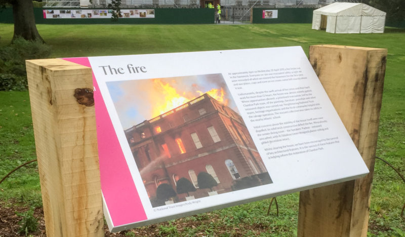 Designing the post-fire story of Clandon Park